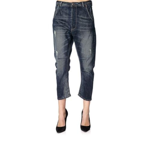Jeans large, boyfriend KAPORAL Bleu, bleu marine, bleu turquoise
