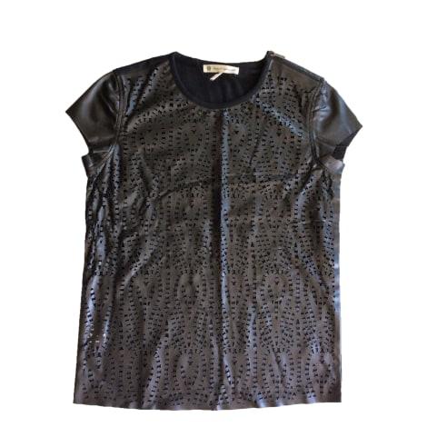 Top, tee-shirt HOUSE OF HARLOW Noir
