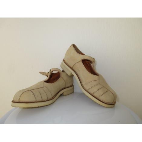 Chaussures à boucle LE LOUP BLANC Beige, camel