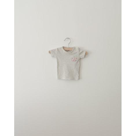 Top, tee shirt BONTON Gris, anthracite