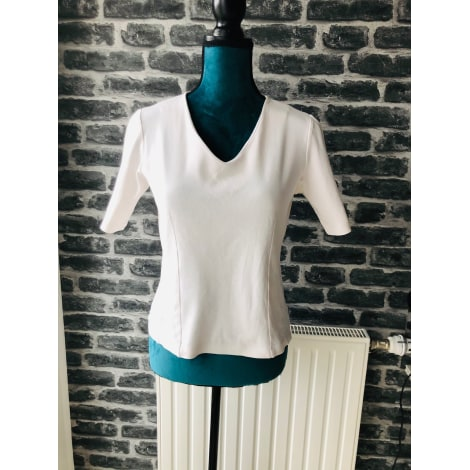 Top, tee-shirt PETER HAHN Blanc, blanc cassé, écru