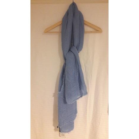 Foulard MANGO Bleu, bleu marine, bleu turquoise
