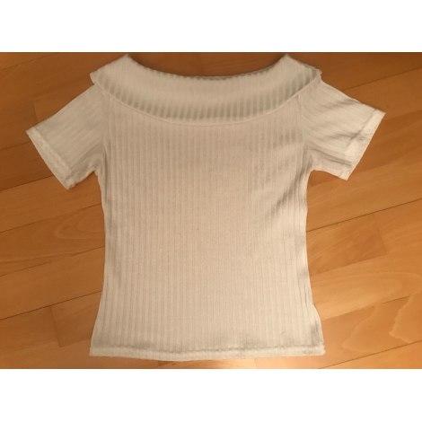 Top, tee-shirt CERISE Blanc, blanc cassé, écru