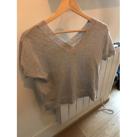 Top, tee-shirt SUD EXPRESS Argenté, acier