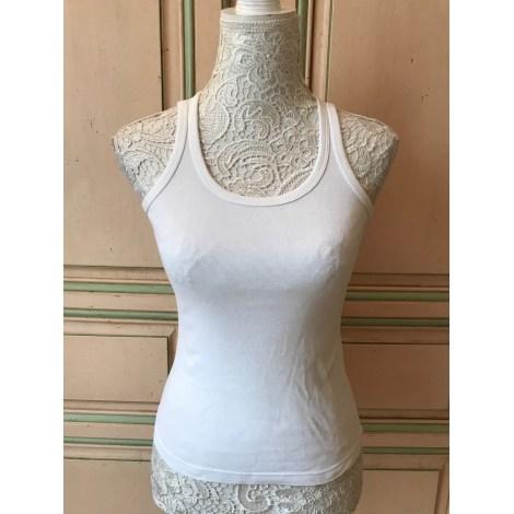Top, tee-shirt BLANC BLEU Blanc, blanc cassé, écru
