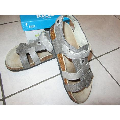 Velcro Shoes GÉMO Gray, charcoal
