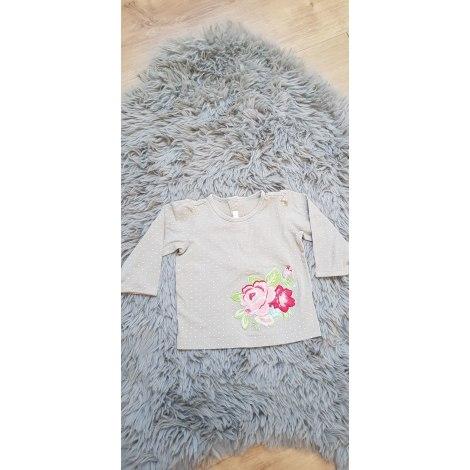 Top, tee shirt H&M Beige, camel