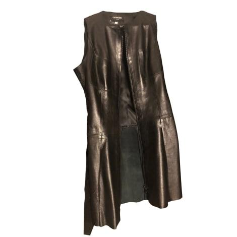 Robe courte GIORGIO Noir