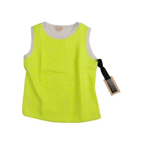 Top, tee-shirt GIAMBATTISTA VALLI Jaune