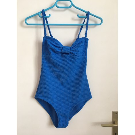 Maillot de bain une-pièce PRINCESSE TAM TAM Bleu, bleu marine, bleu turquoise