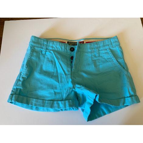 Short SUPERDRY Bleu, bleu marine, bleu turquoise