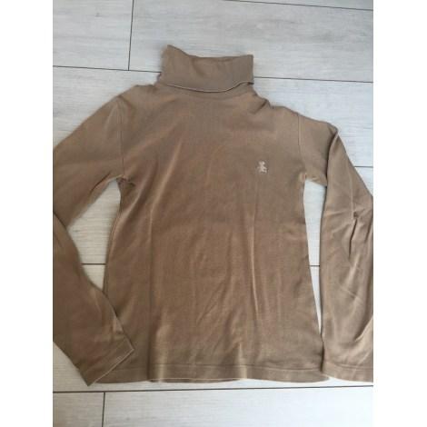 Top, Tee-shirt LULU CASTAGNETTE Marron