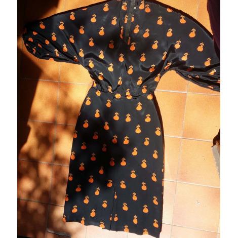 Robe mi-longue MARQUE INCONNUE Multicouleur