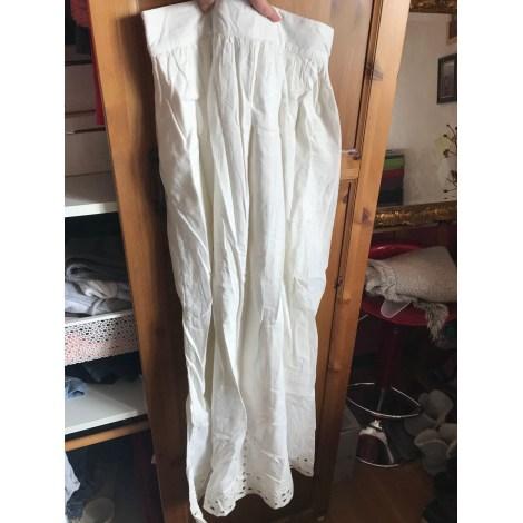 Jupe longue LA REDOUTE Blanc, blanc cassé, écru