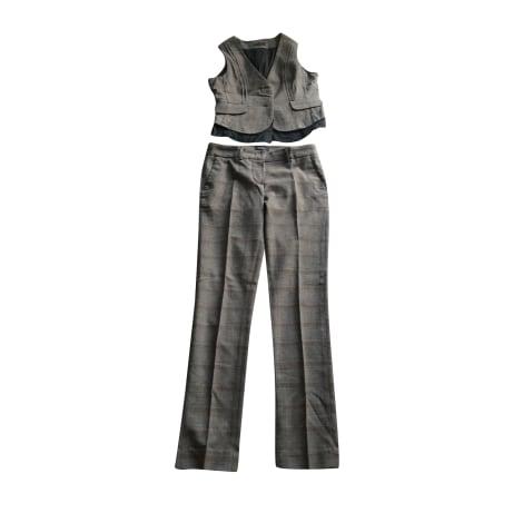 Tailleur pantalon IKKS Marron