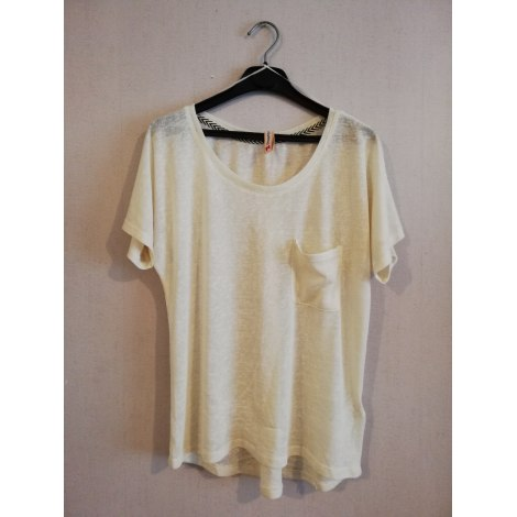 Top, tee-shirt SPRINGFIELD Blanc, blanc cassé, écru