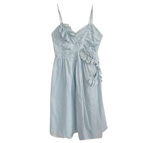 Robe courte REBECCA TAYLOR Bleu, bleu marine, bleu turquoise
