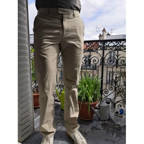 Straight Leg Pants DOCKERS Beige, camel