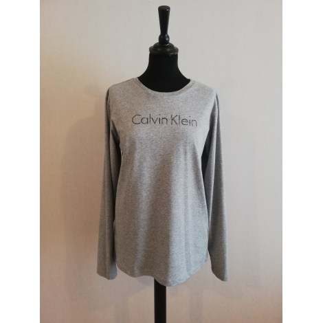 Tee-shirt CALVIN KLEIN Gris, anthracite