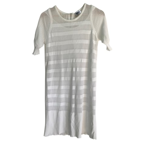 Robe mi-longue SONIA BY SONIA RYKIEL Blanc, blanc cassé, écru