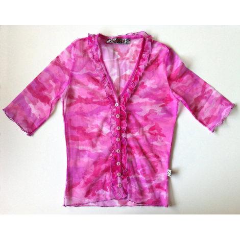 Top, tee-shirt LILI LA TIGRESSE Rose, fuschia, vieux rose