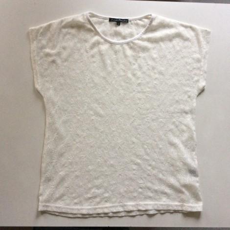 Top, tee-shirt AVANT PREMIERE Blanc, blanc cassé, écru