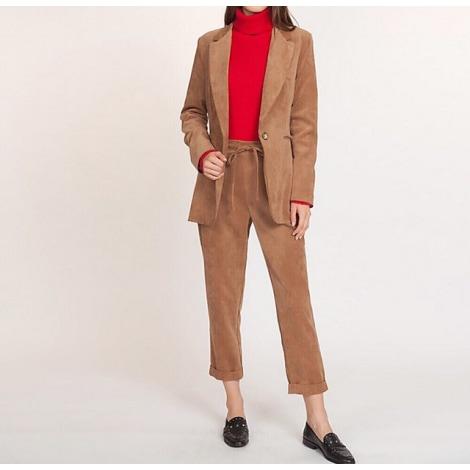 Blazer, veste tailleur LA FÉE MARABOUTÉE Beige, camel