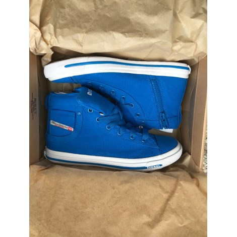 Baskets DIESEL Bleu, bleu marine, bleu turquoise