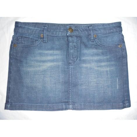 Jupe en jean MAJE Bleu, bleu marine, bleu turquoise