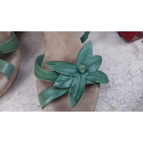 Wedge Sandals MINELLI Green