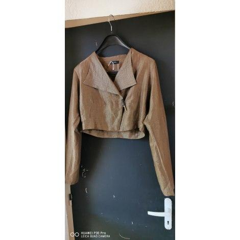 Tailleur pantalon ZAPA Doré, bronze, cuivre