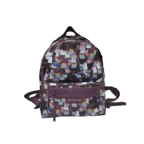 Backpack LONGCHAMP Purple, mauve, lavender