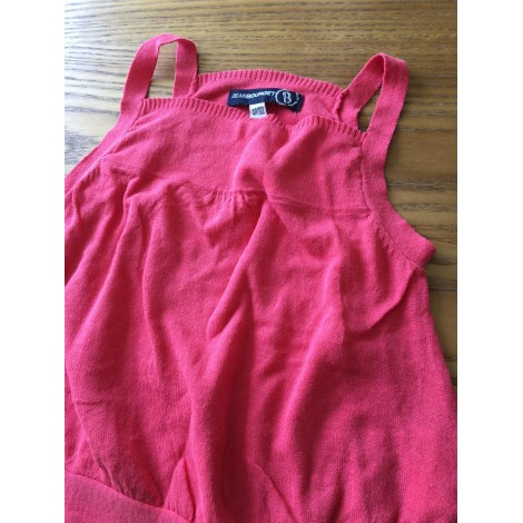 Top, Tee-shirt JEAN BOURGET Rose, fuschia, vieux rose