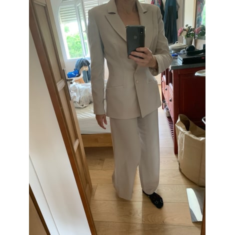 Tailleur pantalon THIERRY MUGLER Beige, camel