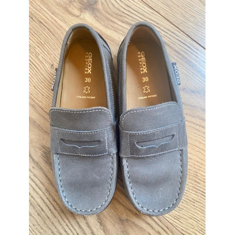 Loafers GEOX Gray, charcoal