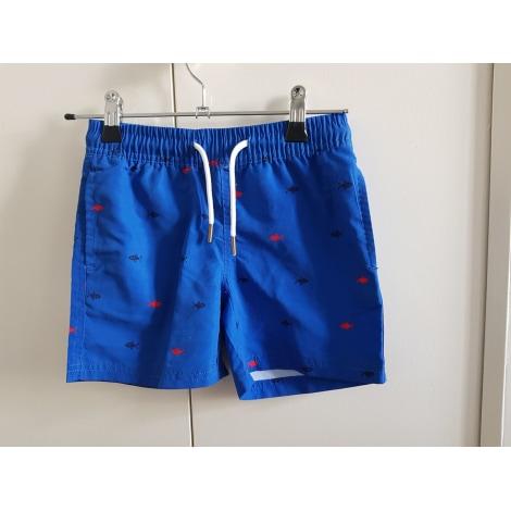 Short de bain CYRILLUS Bleu, bleu marine, bleu turquoise