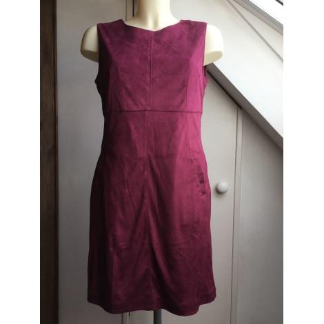 Robe courte BON PRIX Rouge, bordeaux