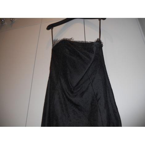 Robe bustier YVES SAINT LAURENT Noir