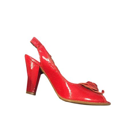 Sandales à talons VIC MATIÉ Rouge, bordeaux