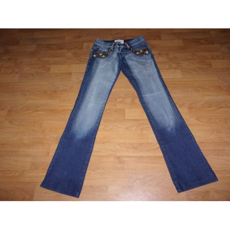 Jeans droit REDIAL Bleu, bleu marine, bleu turquoise