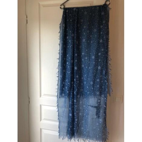 Foulard AUCUNE MARQUE Bleu, bleu marine, bleu turquoise