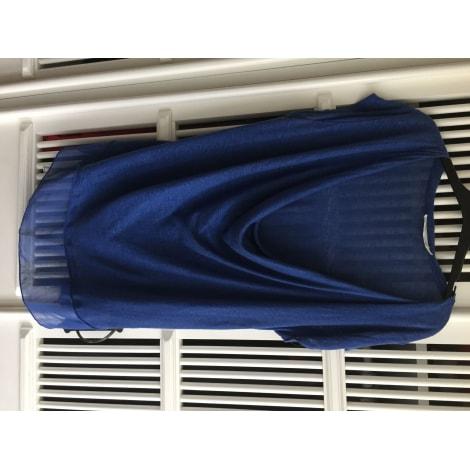 Top, tee-shirt ZARA Bleu, bleu marine, bleu turquoise