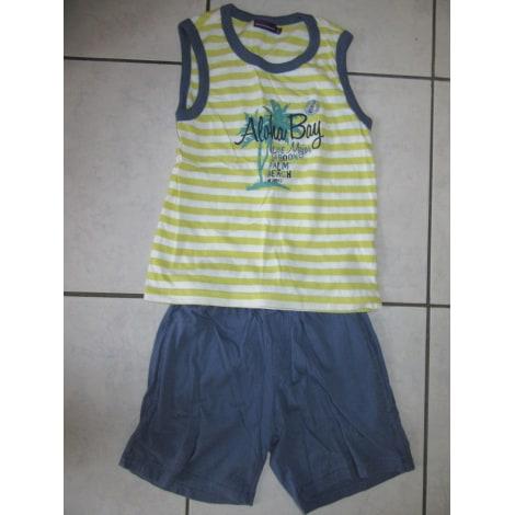 Anzug, Set für Kinder, kurz SERGENT MAJOR Blau, marineblau, türkisblau