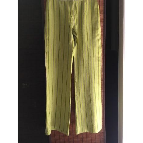 Pantalon large ADOLFO DOMINGUEZ Vert