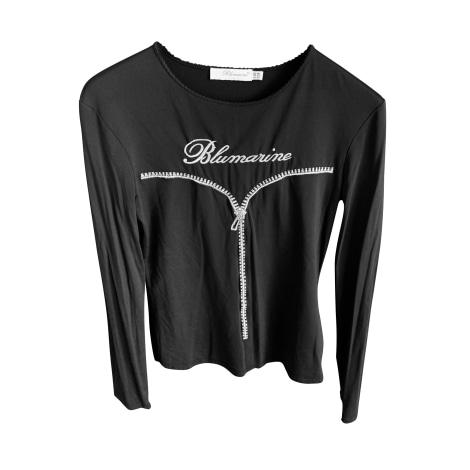 Top, tee-shirt BLUMARINE Noir