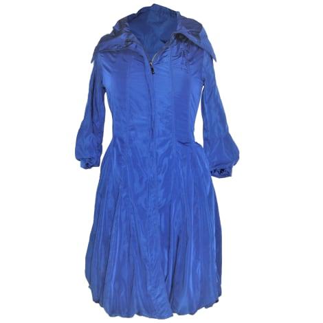 Imperméable, trench GIANFRANCO FERRE Bleu, bleu marine, bleu turquoise