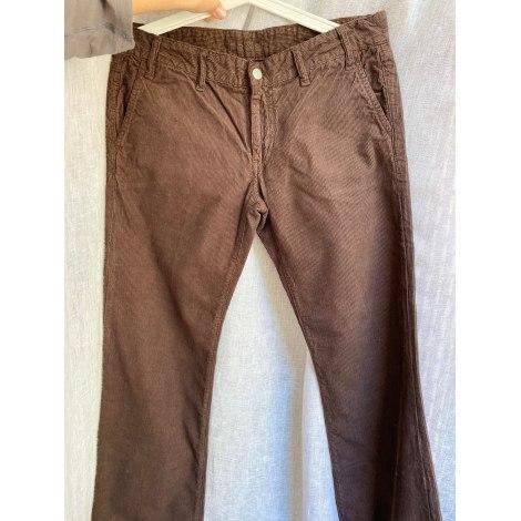 Jeans évasé, boot-cut BA&SH Marron