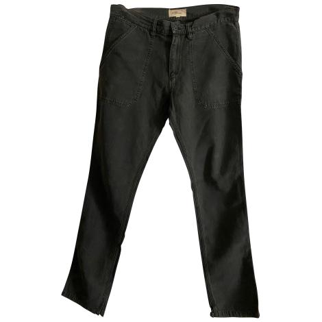 Pantalon harem ISABEL MARANT ETOILE Gris, anthracite