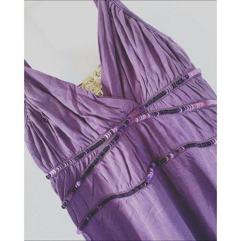 Top, tee-shirt JENNYFER Violet, mauve, lavande