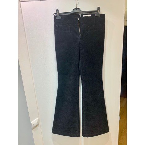 Pantalon évasé CHLOÉ Noir